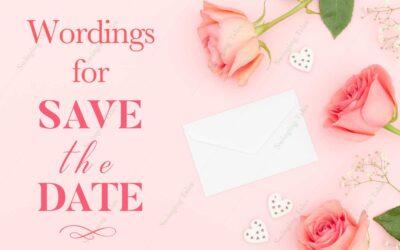 25+ Wordings for Wedding Invitations