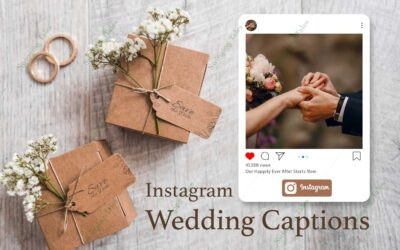 25 Best Wedding Captions for Instagram